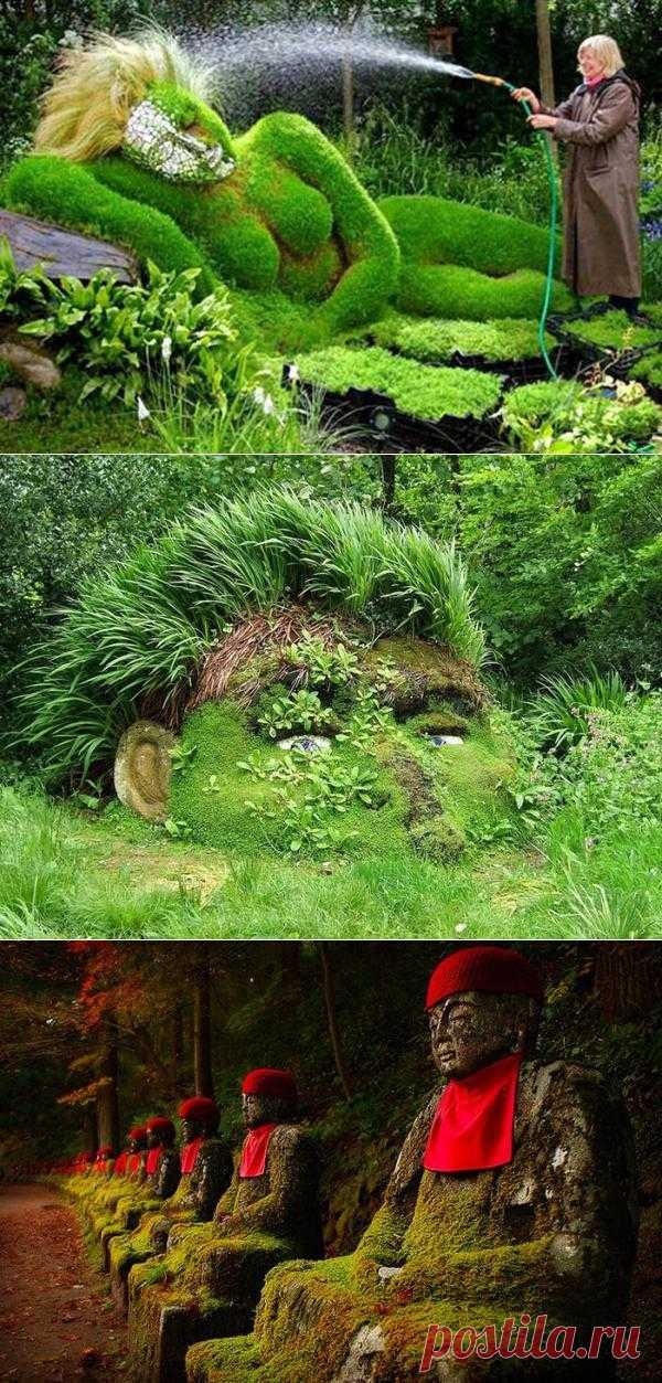 Чудеса ландшафтного дизайна. Много вдохновения для вас!