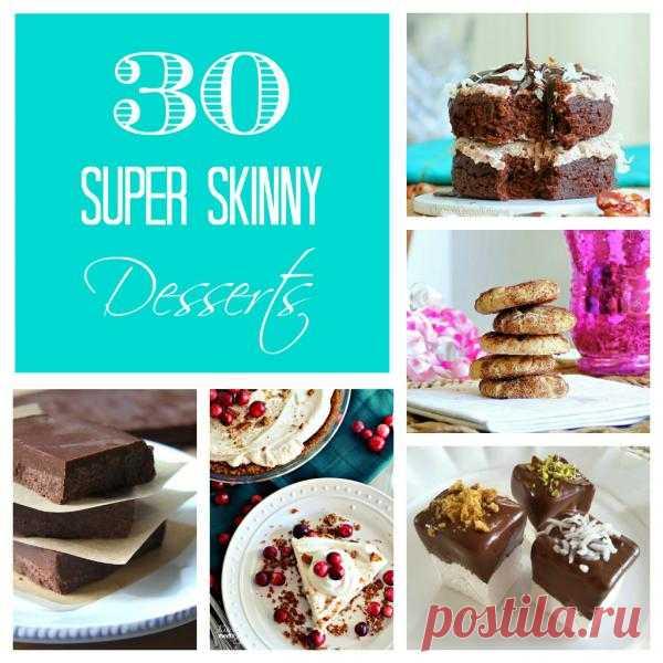 30 Super Skinny Desserts - Something Swanky