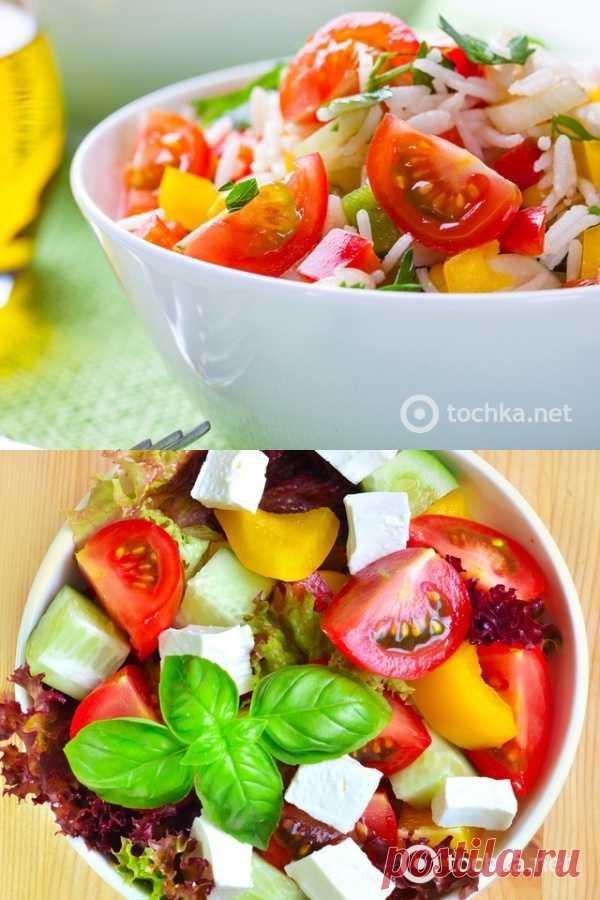 Постные блюда: китайский овощной салат