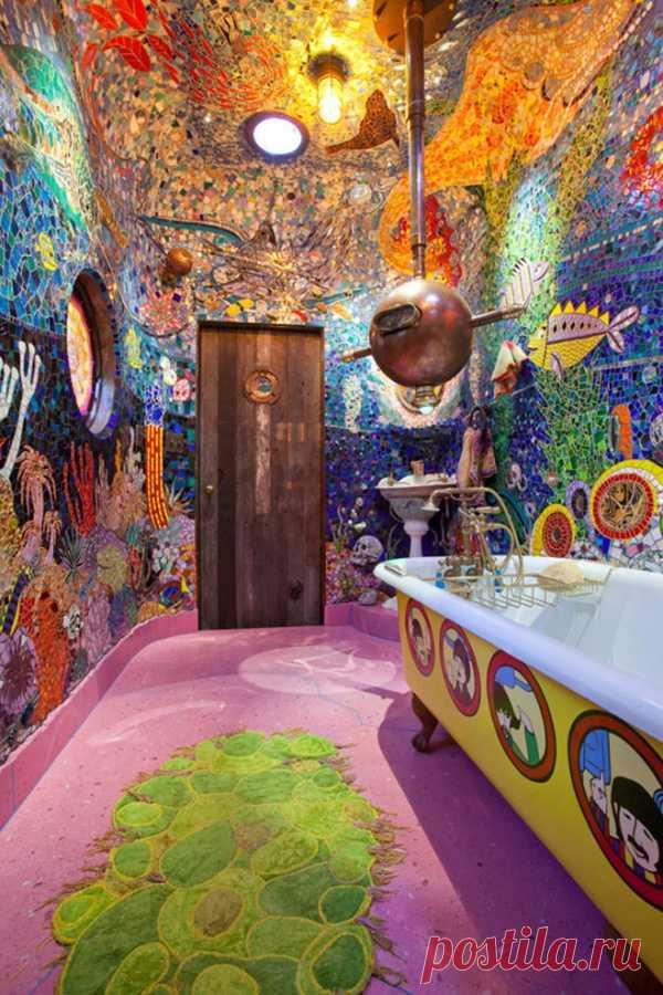 Морская ванная комната.