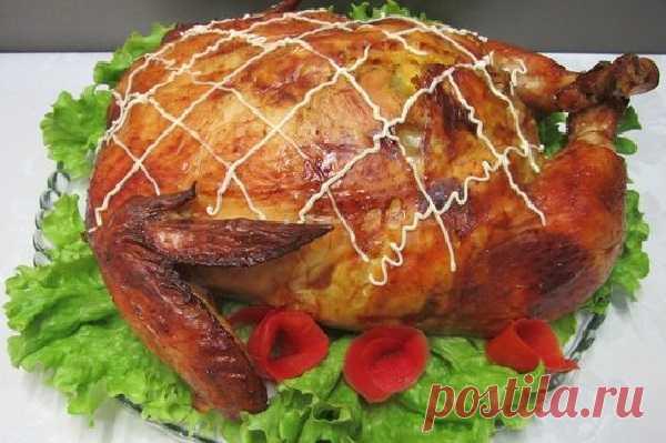 Волшебная курица к праздничному столу — ХОЗЯЮШКА
