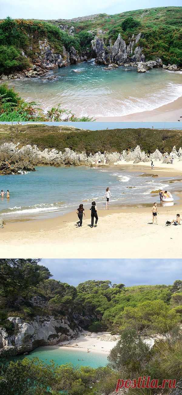 Плайя-де-Гульпиюри (Playa de Gulpiyuri) – морской пляж без моря