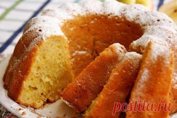 Кекс на сметане по-домашнему — Sloosh – кулинарные рецепты