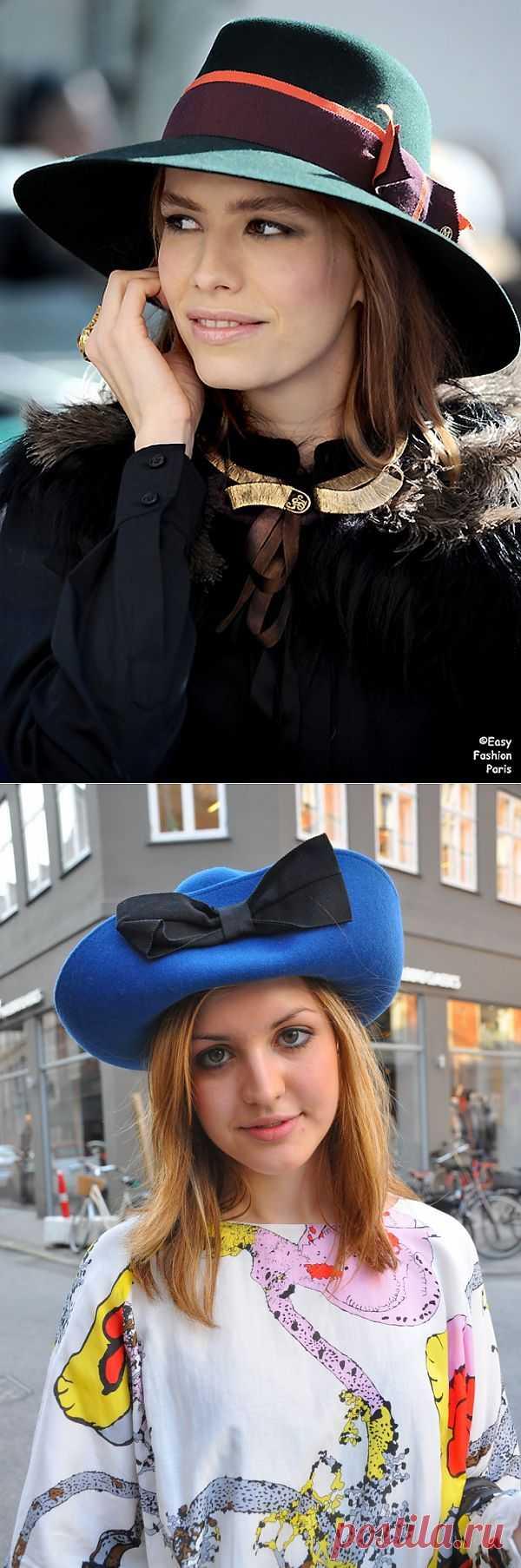 Тело в шляпе (трафик) / Street Style / Модный сайт о стильной переделке одежды и интерьера