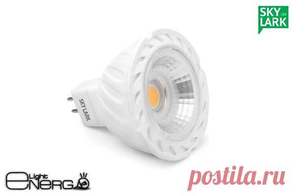 Купить светодиодную лампу MR16 GU 5.3 в Минске | Лампы светодиодные MR16 GU 5.3 цоколь