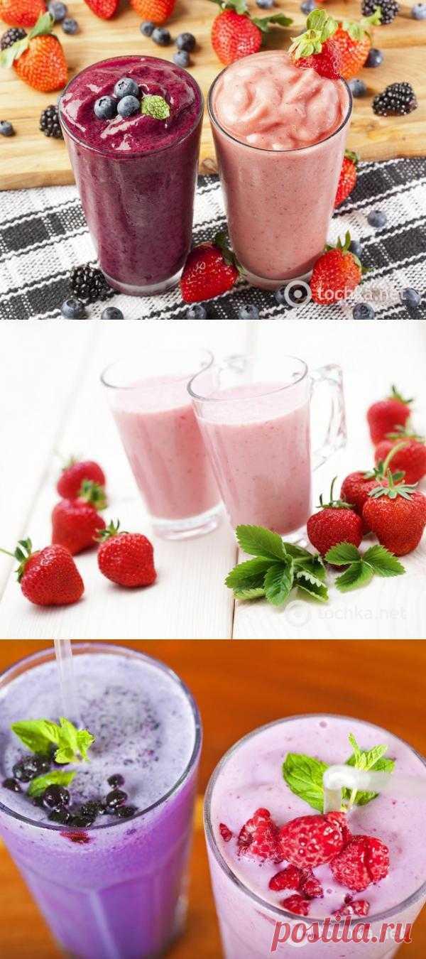 Рецепты смузи на завтрак