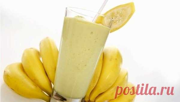 Банановый смузи с овсянкой — ИДЕАЛЬНЫЙ завтрак!