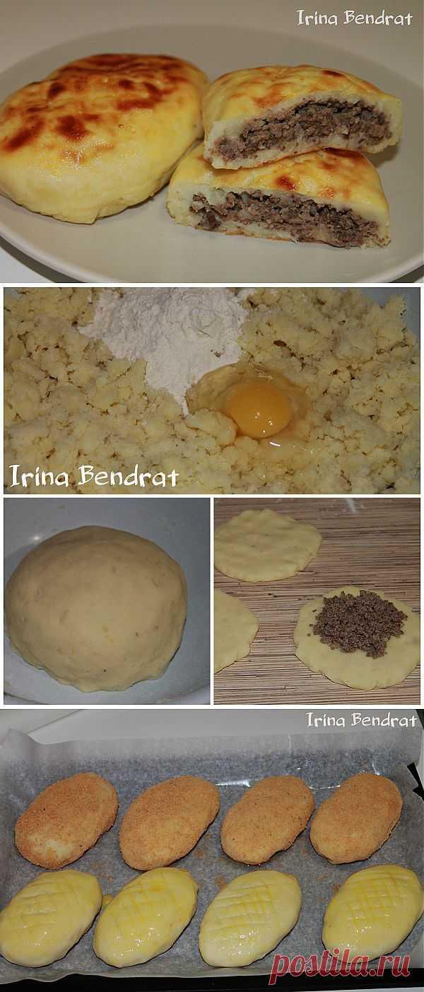 Картофельные зразы с печёночной начинкой из детства.
