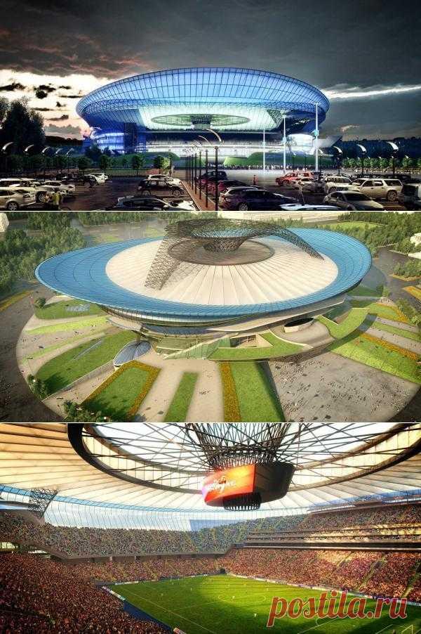 Новый проект стадиона Лужники