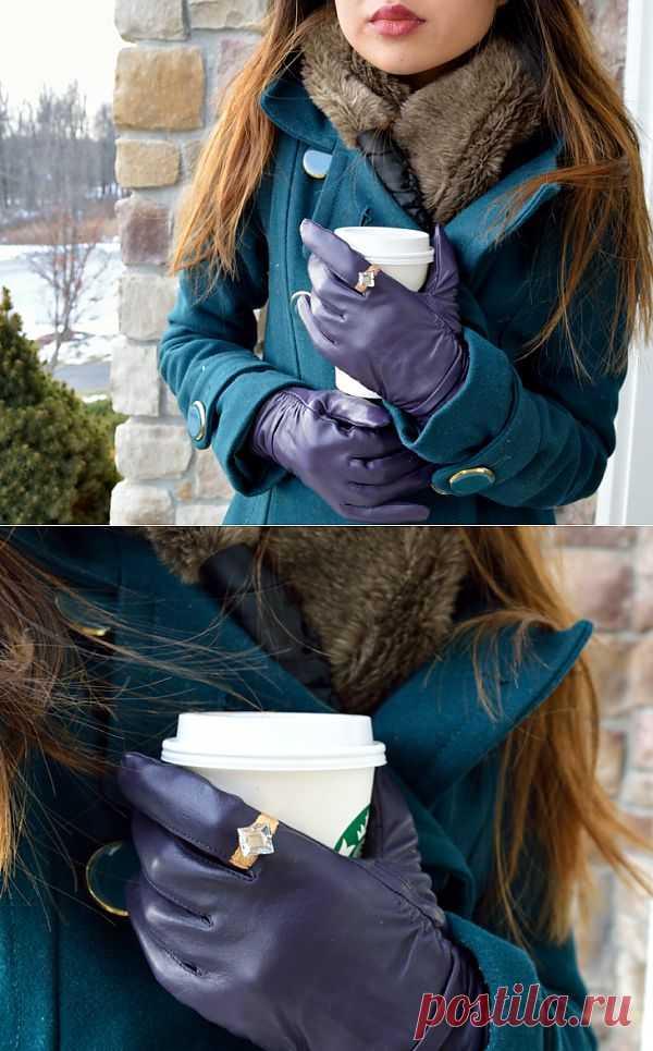Перчатка с перстнем (DIY) / Перчатки и варежки / Модный сайт о стильной переделке одежды и интерьера
