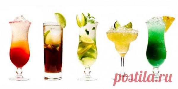 ИНФОГРАФИКА: Как готовить самые популярные коктейли | Лайфхакер