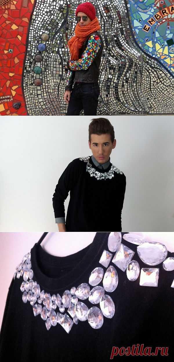 Декор стразами (DIY) / Декор / Модный сайт о стильной переделке одежды и интерьера