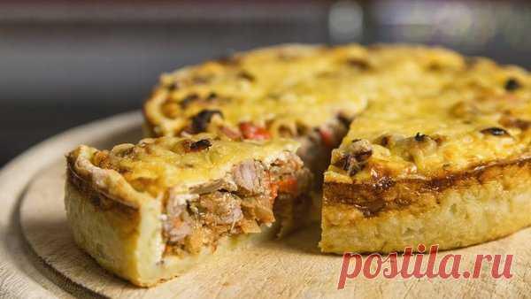 Как сделать вкусный Открытый Мясной Пирог | Журнал Повара | Яндекс Дзен