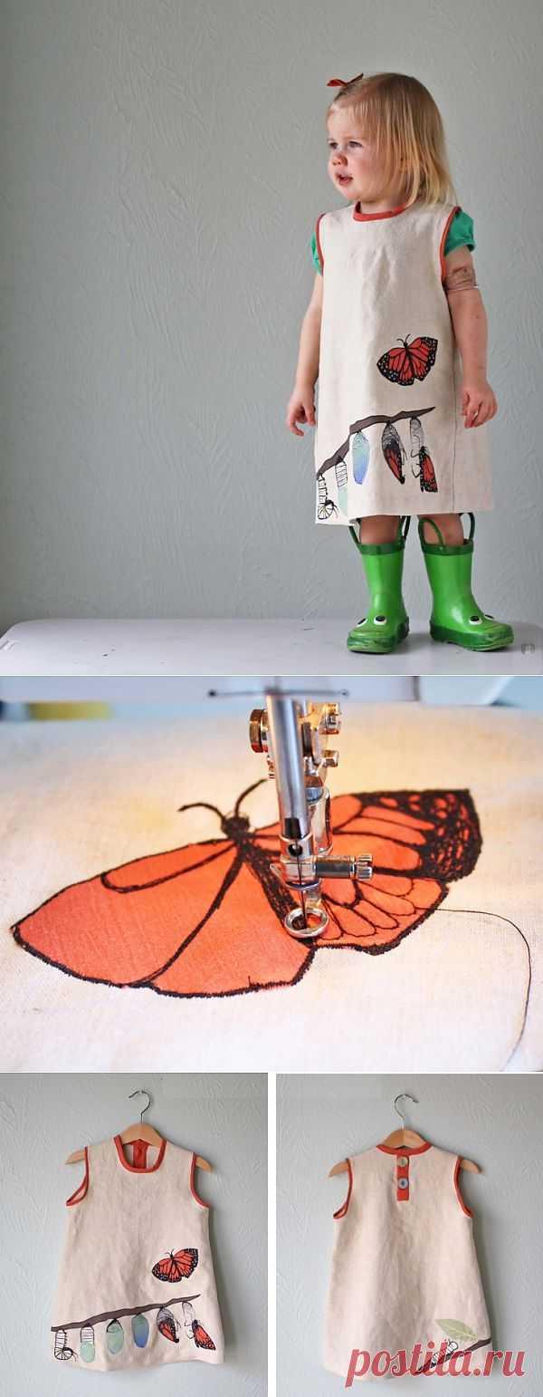 Из жизни бабочки (трафик, DIY) / Для детей / Модный сайт о стильной переделке одежды и интерьера
