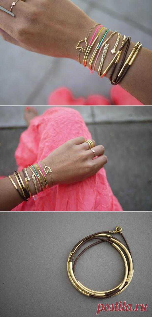 2 легких способа сделать браслеты своими руками