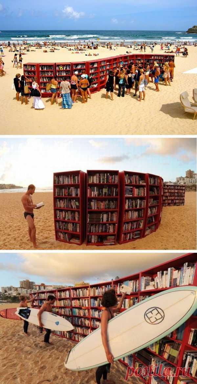 Что почитать у моря? Пляжные библиотеки в Италии.