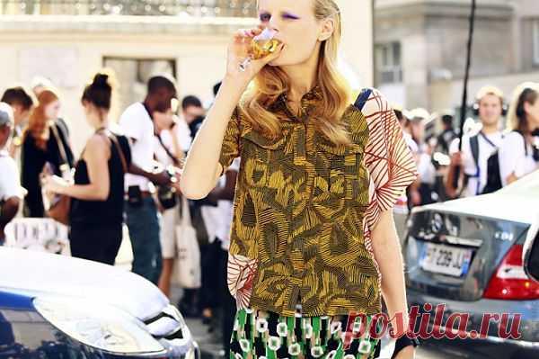 Креативная блузка / Блузки / Модный сайт о стильной переделке одежды и интерьера