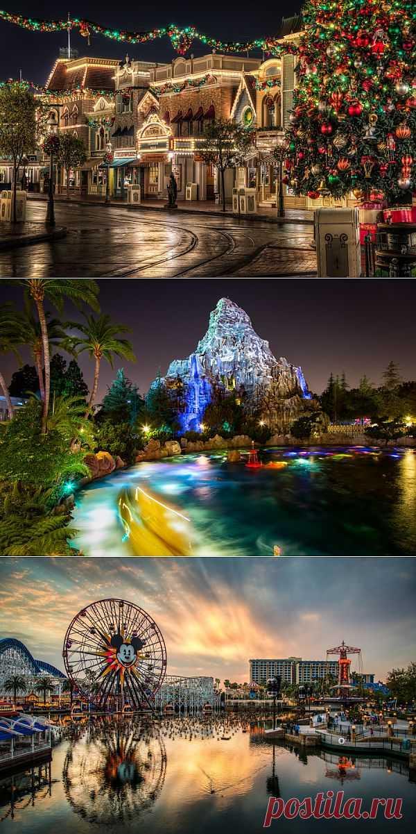 Диснейленд - красивые фотографии | Живой фотоблог