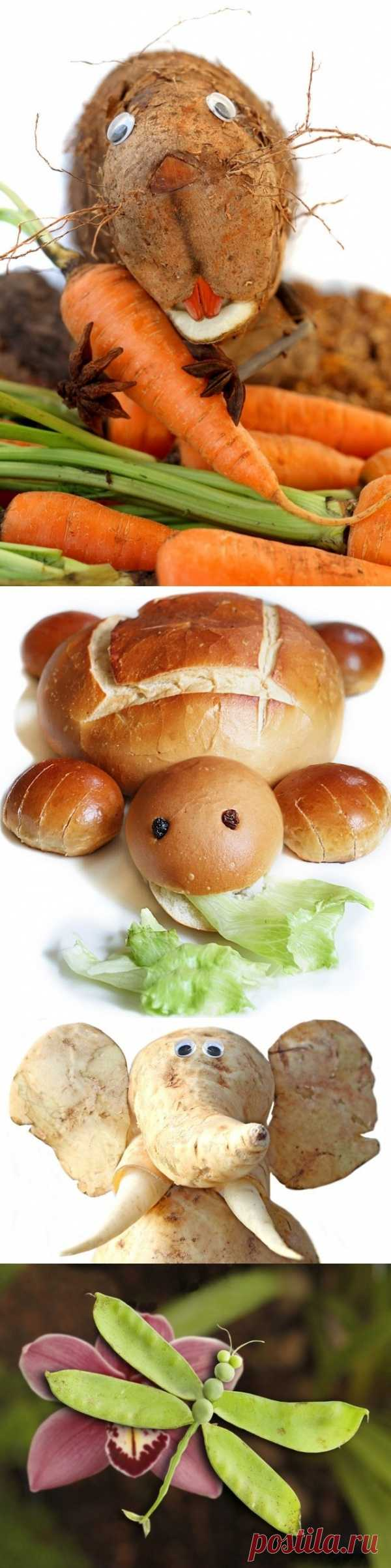 Креативные фото еды бразильского фотографа Ванессы Дуалиб (для получения информации нажмите 2 раза на картинку)