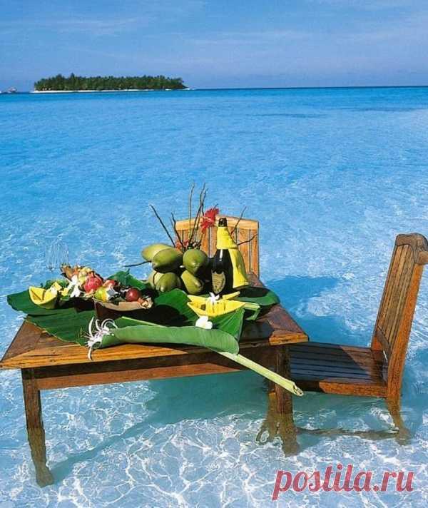 Это похоже на рай. Мальдивские острова