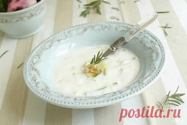 Foodclub — кулинарные рецепты с пошаговыми фотографиями - Холодный суп Таратор.