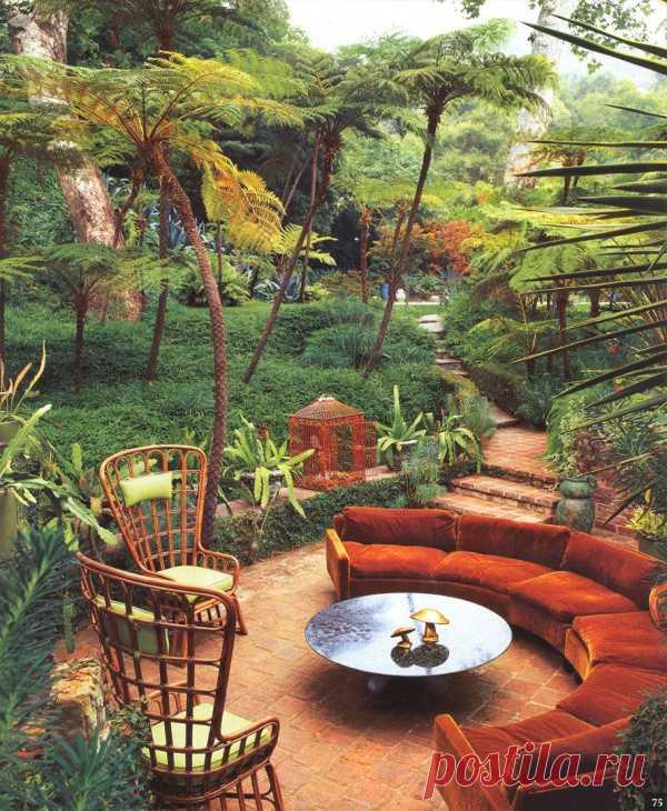 Прекрасное место! Сад Арт Луна, Санта Моника, Калифорния, США