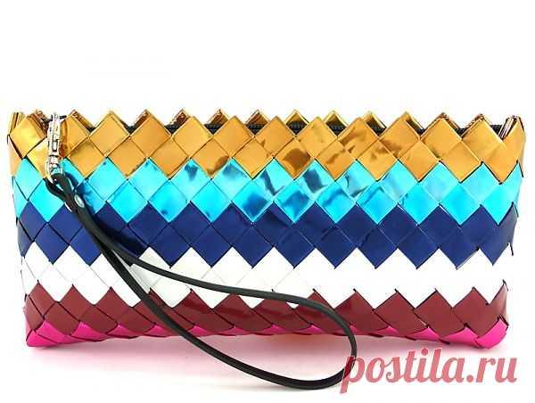 Сумки из обёрток - Candy Wrapper Bags / Сумки, клатчи, чемоданы / Модный сайт о стильной переделке одежды и интерьера