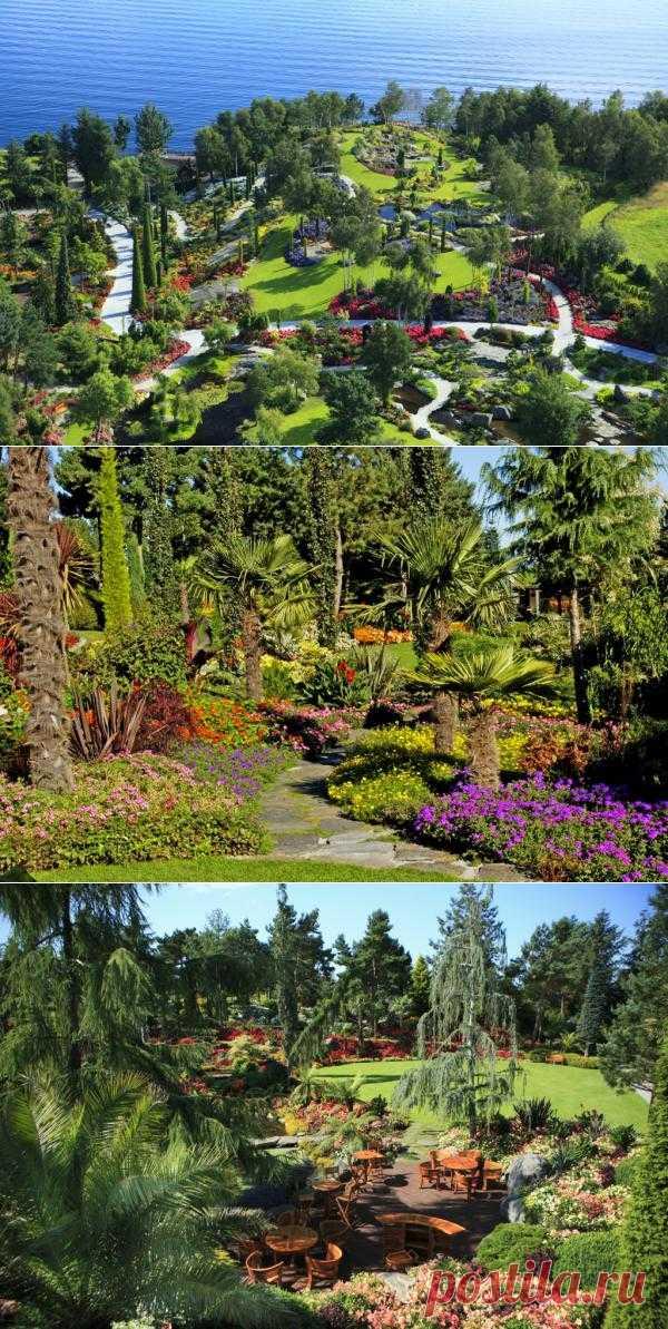 Норвежский сад Flor og fjære