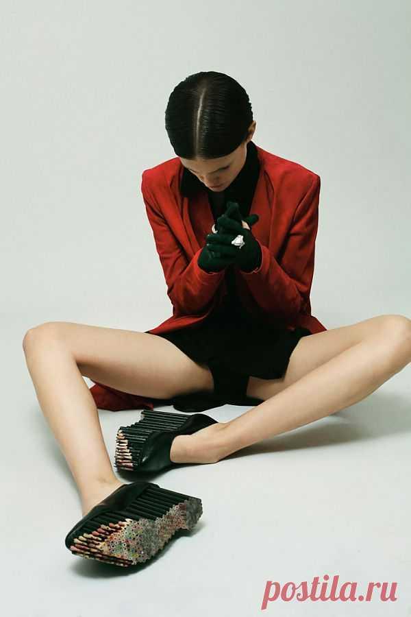 Встать на карандаш / Обувь / Модный сайт о стильной переделке одежды и интерьера