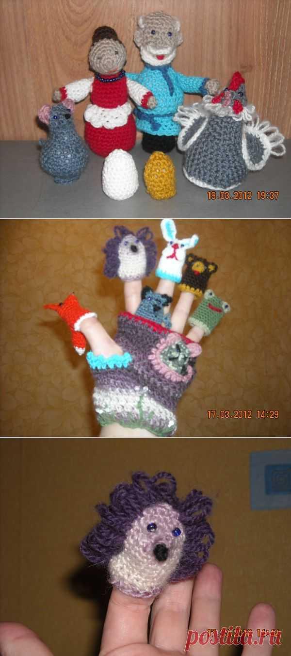 (+1) - Театр. Сказочки в куколках...))) | Очумелые ручки