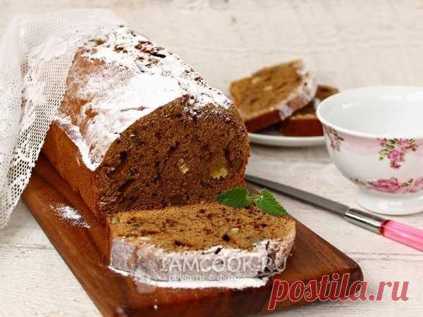 Шоколадно-тыквенный кекс с грецкими орехами — рецепт с фото Возьмите на заметку несложный рецепт ароматного шоколадно-тыквенного кекса с орехами.