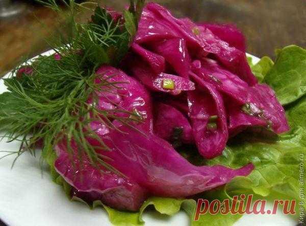 Маринованная капуста / Рецепты с фото
