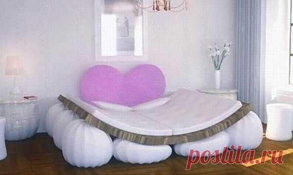 Кровать как индикатор чувств / Мебель / Модный сайт о стильной переделке одежды и интерьера