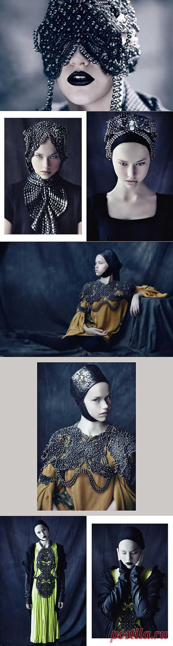 Лукбук Frau Berg осень зима 2012-2013 / Лукбуки / Модный сайт о стильной переделке одежды и интерьера