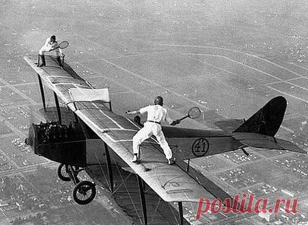 Теннис в небесах