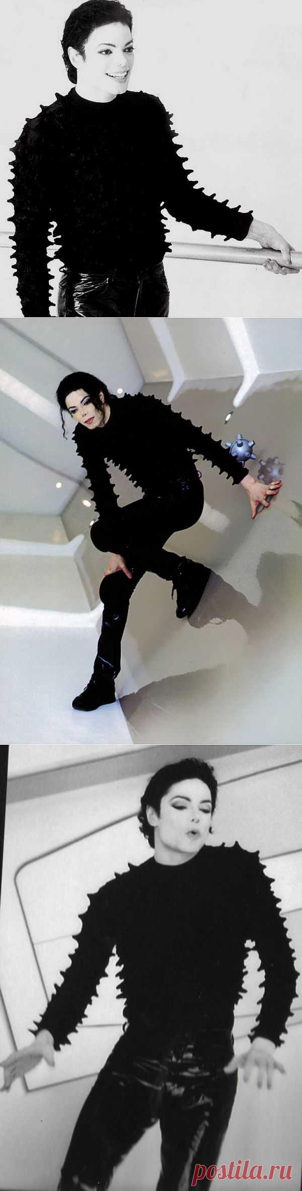 Интересный свитер Майкла Джексона / Звездный стиль / Модный сайт о стильной переделке одежды и интерьера