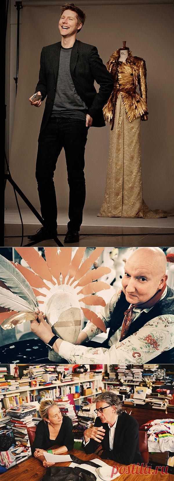 Британские дизайнеры за работой (подборка фото) / Дизайнеры / Модный сайт о стильной переделке одежды и интерьера