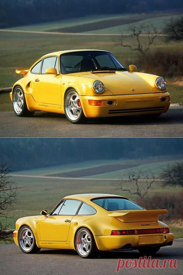 Porsche 911 Turbo S 3.3 Leichtbau Prototype (1992)
