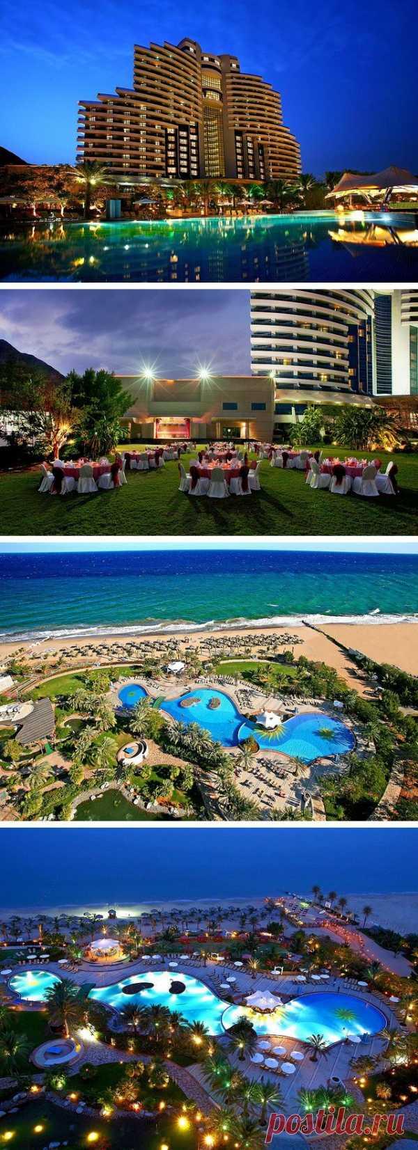Прекрасный отель с панорамным видом на Индийский океан. Аль-Ака, ОАЭ