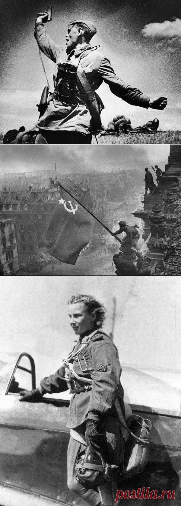 35 знаменитых снимков Великой Отечественной Войны | Kликaбoл - всё самое интересное