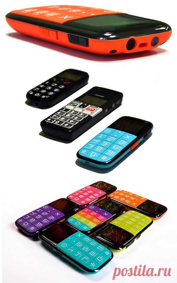 Ярко-кислотный «бабушкофон» Just5 CP10S | Мобильные устройства