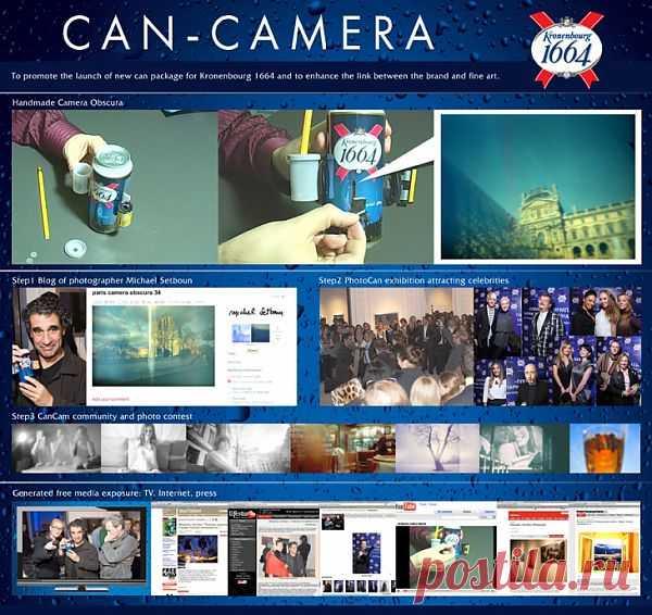 Работающий фотоаппарат из ... пивной банки за минуту (DIY) / Гаджеты / Модный сайт о стильной переделке одежды и интерьера