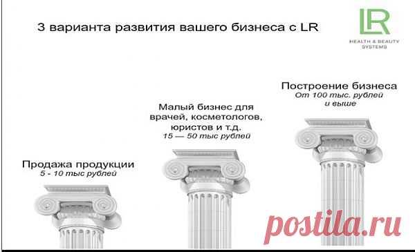 """3 варианта развития вашего бизнеса с немецкой компанией """"LR"""""""