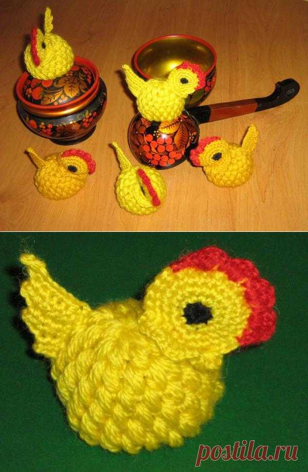 Цыплята-сувениры.