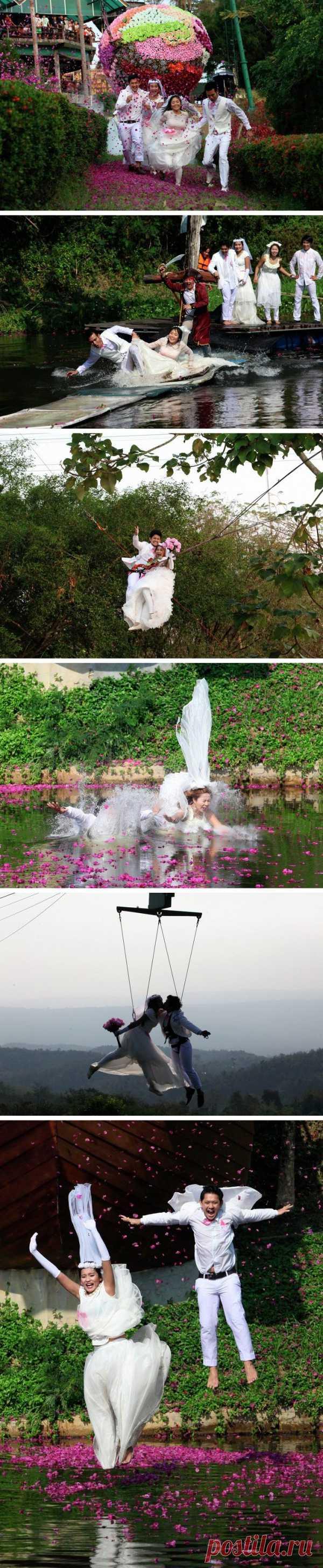 Свадебный экстрим или необычный свадебный курорт в Тайланде