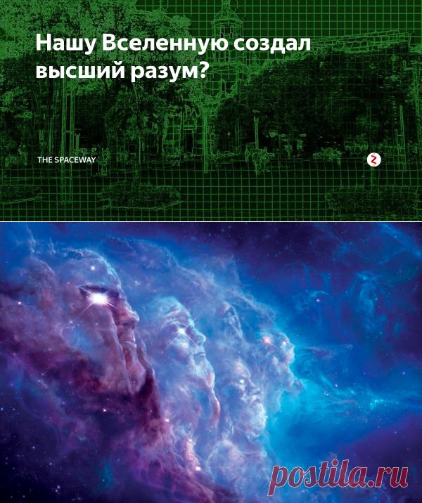 Нашу Вселенную создал высший разум? | THE SPACEWAY | Яндекс Дзен