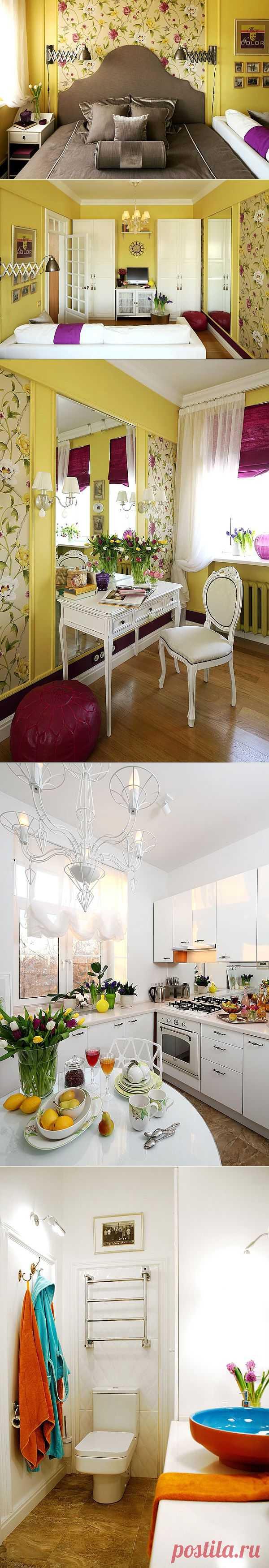 Дизайн интерьера квартиры от Галины Юрьевой | Фотографии красивых интерьеров