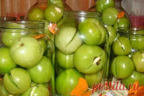 Консервируем зеленые помидоры: 5 рецептов засолки – БУДЬ В ТЕМЕ