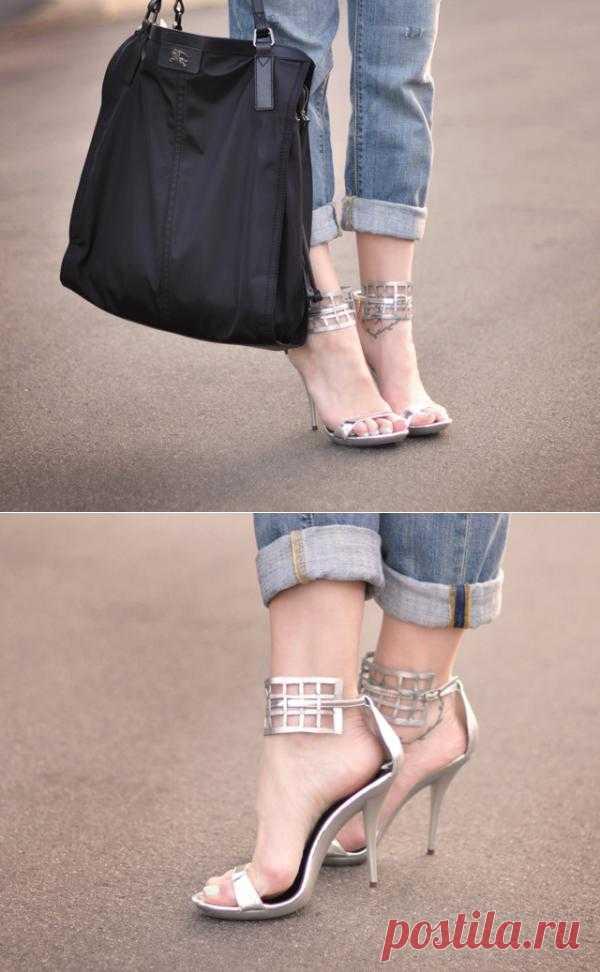 Необычная переделка обуви