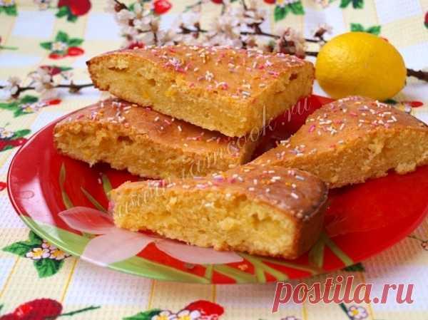 Лимонный пирог на кефире — рецепт с фото пошагово. Как приготовить пирог на кефире с лимонной начинкой?